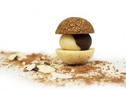 cokoladovo kokosova makronka 1