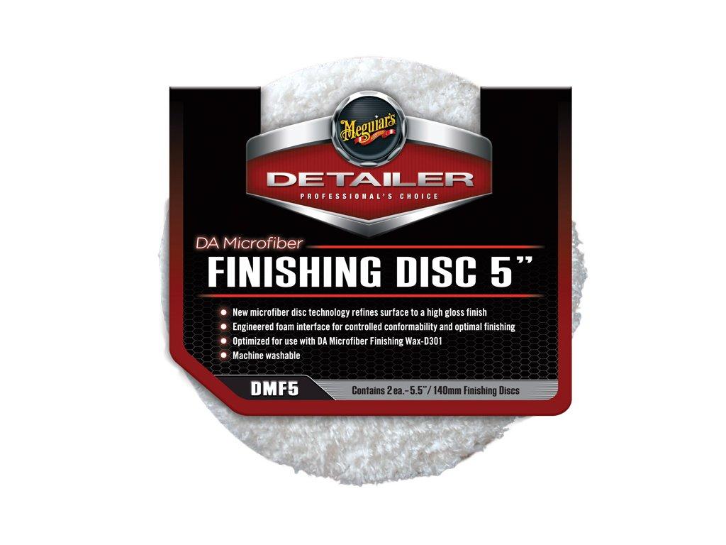 68906 meguiar s da microfiber finishing disc 5 finisovaci mikrovlaknovy kotouc 5palcovy 2 kusy