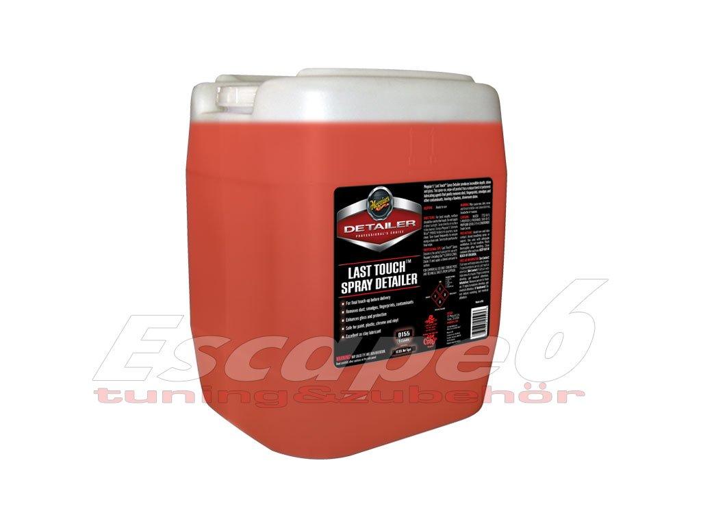68756 meguiar s last touch spray detailer detailer pro odstraneni lehkych necistot lubrikaci laku a posileni lesku 18 92 l