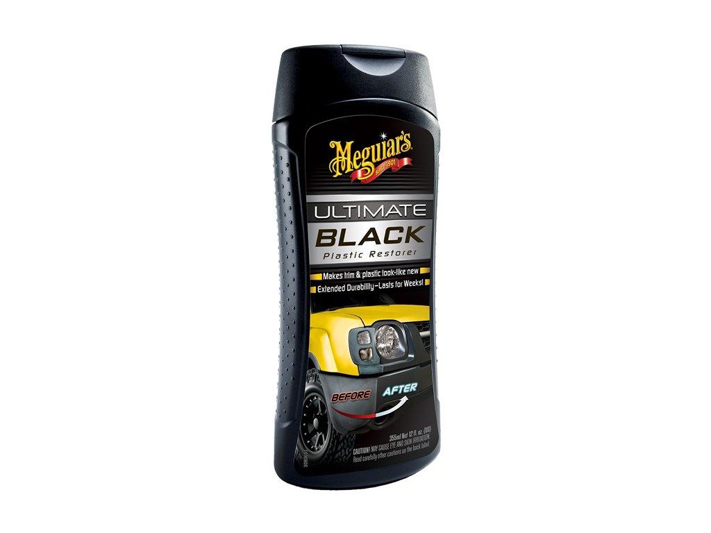 68978 meguiar s ultimate black plastic restorer ozivovac a ochrana nelakovanych plastu v exterieru i interieru 355 ml