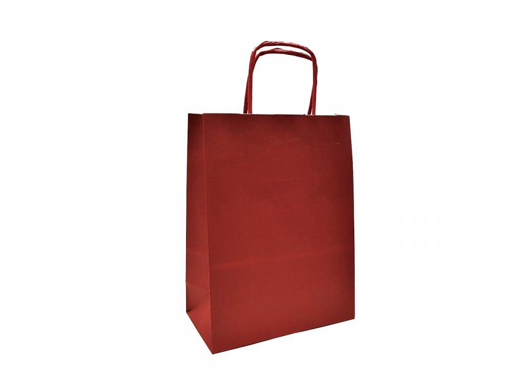 taska eko s tmave cervena