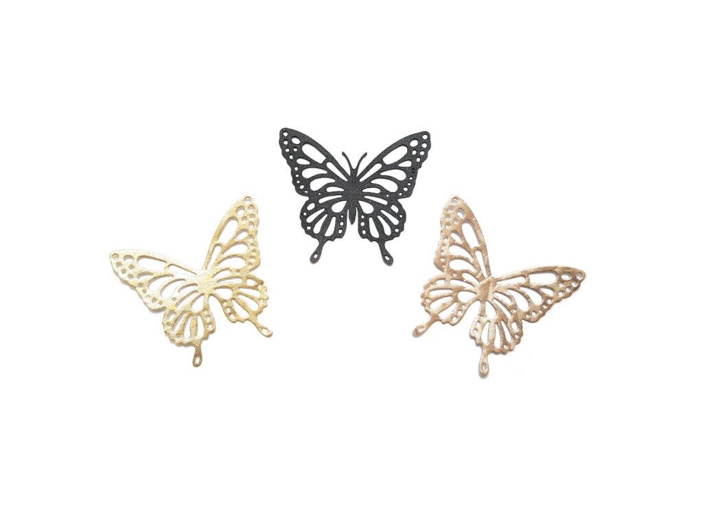 dekorace motýl S
