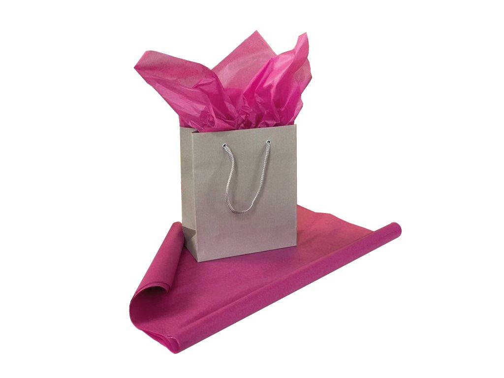 Hedvábný papír Růžový