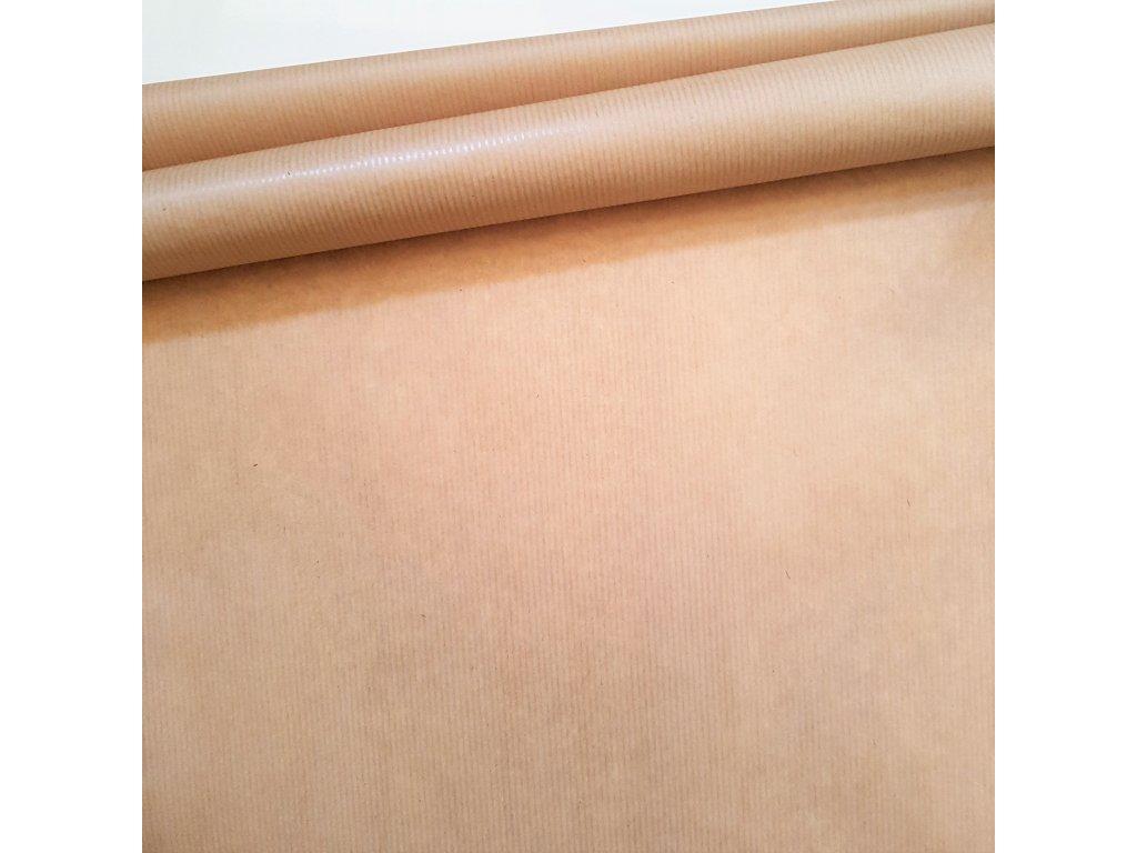 Balicí papír natur - přírodní