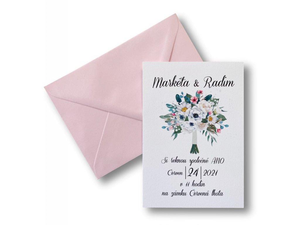 svatební oznámení - Miranda