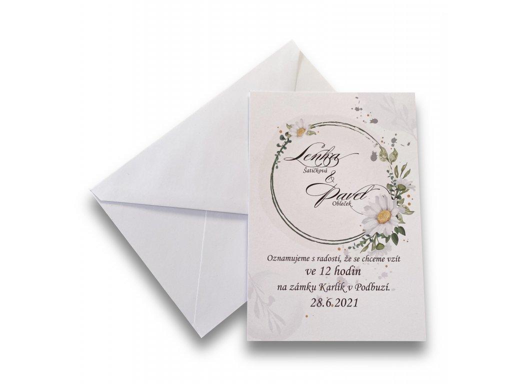 Svatební oznámení - Lolita