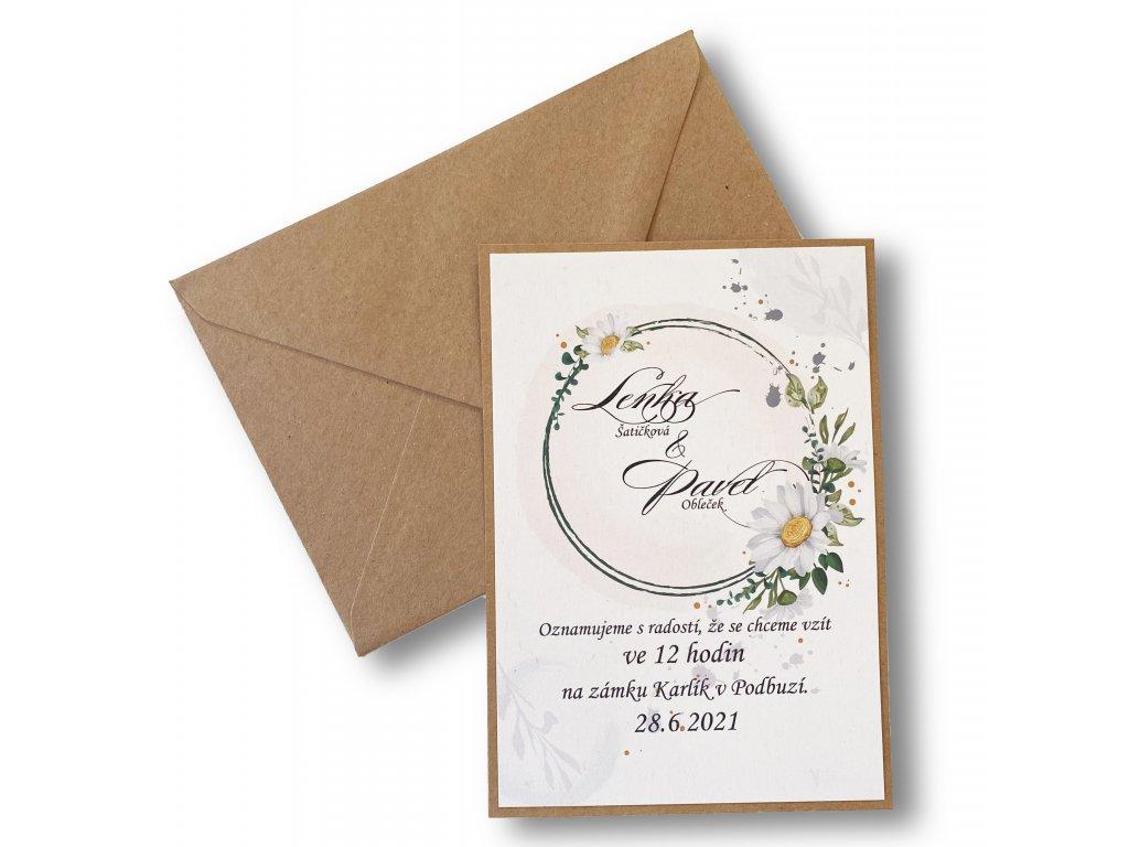 Svatební oznámení - Charlotte