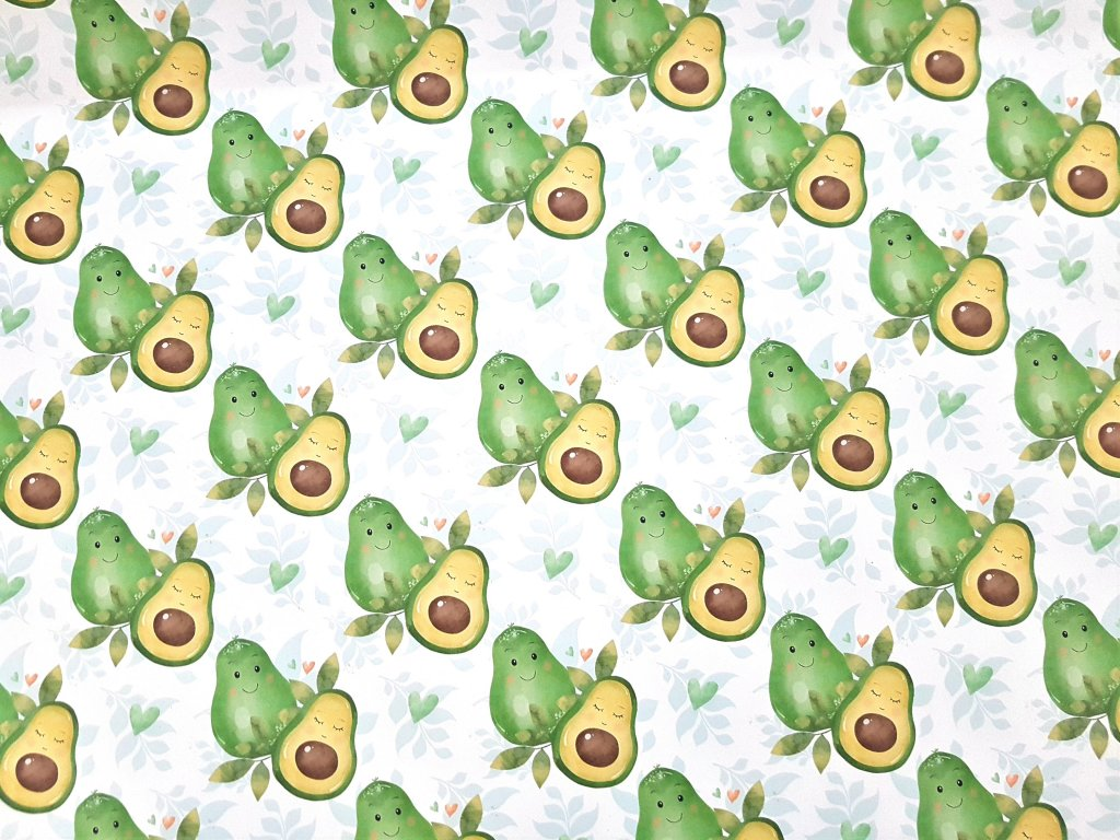 balici papir avocado avokado zeleny