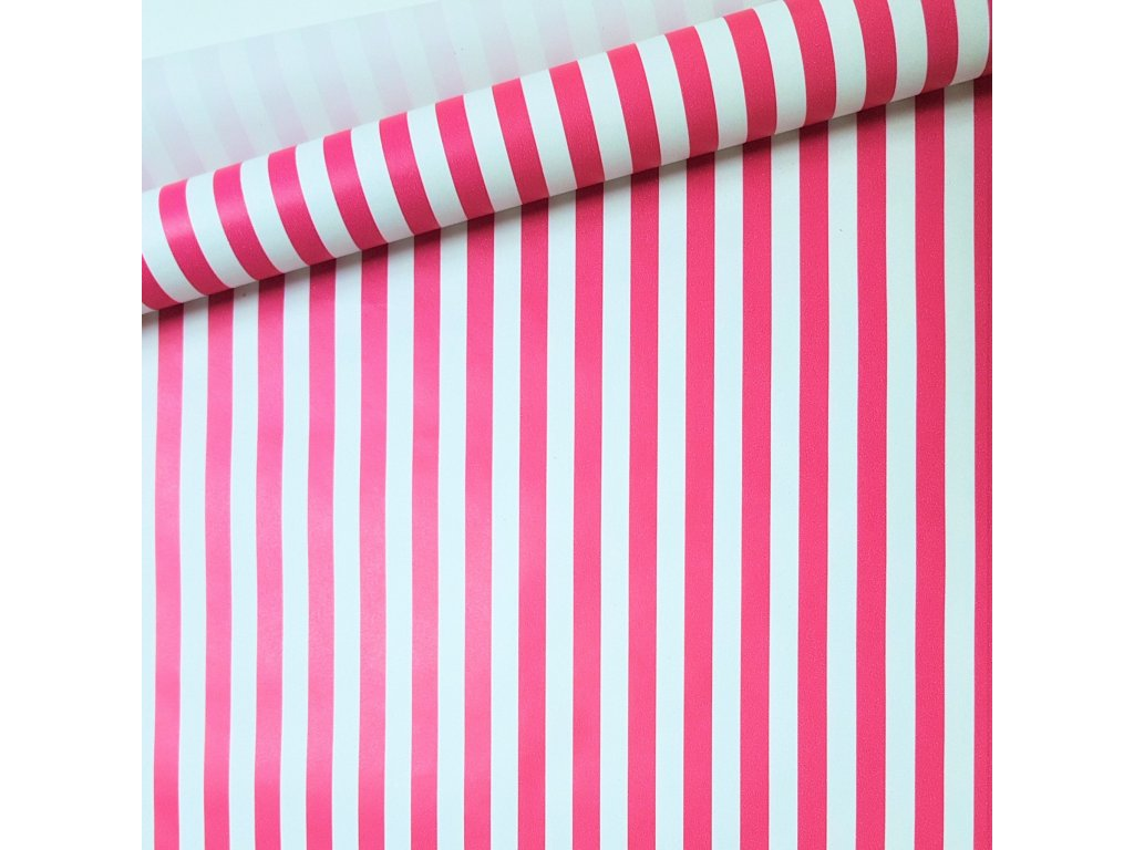 balici papir ruzove pruhy siroke produkt