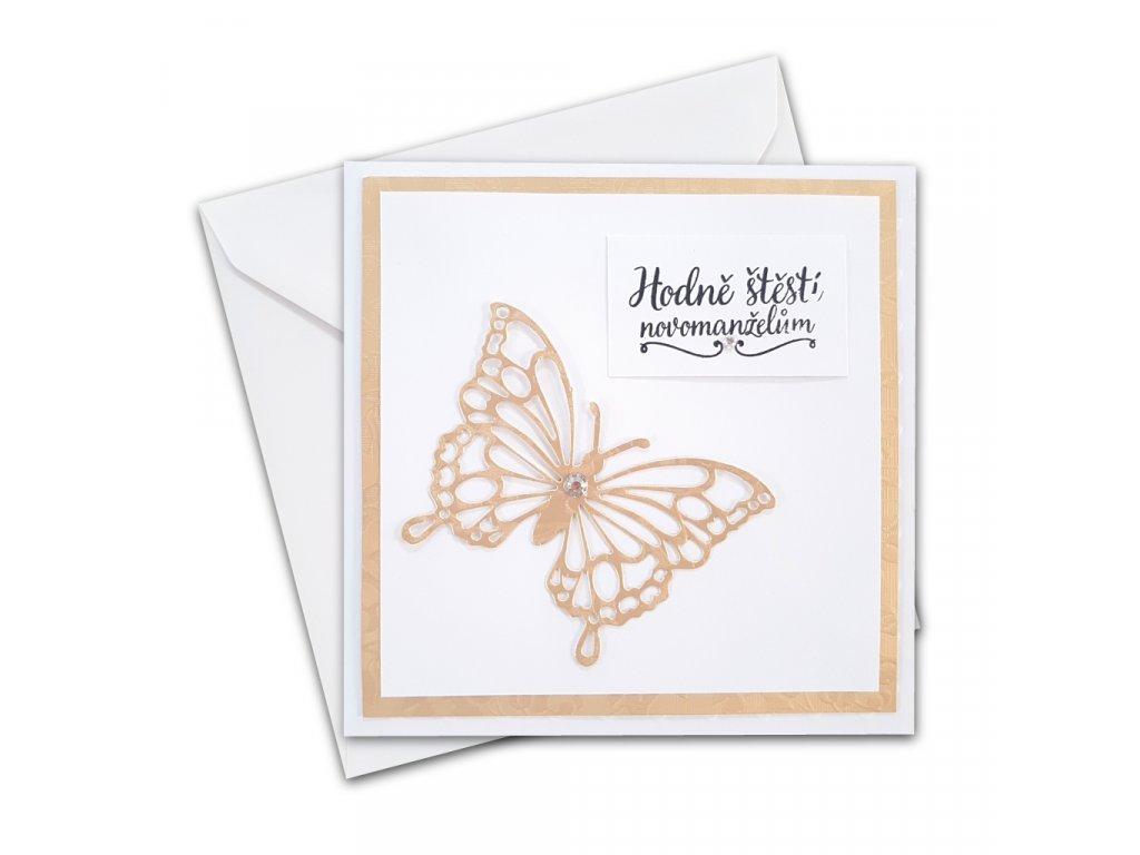prani rucni vyroba svatba motýl