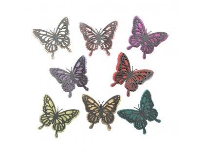 dekorace M motýl