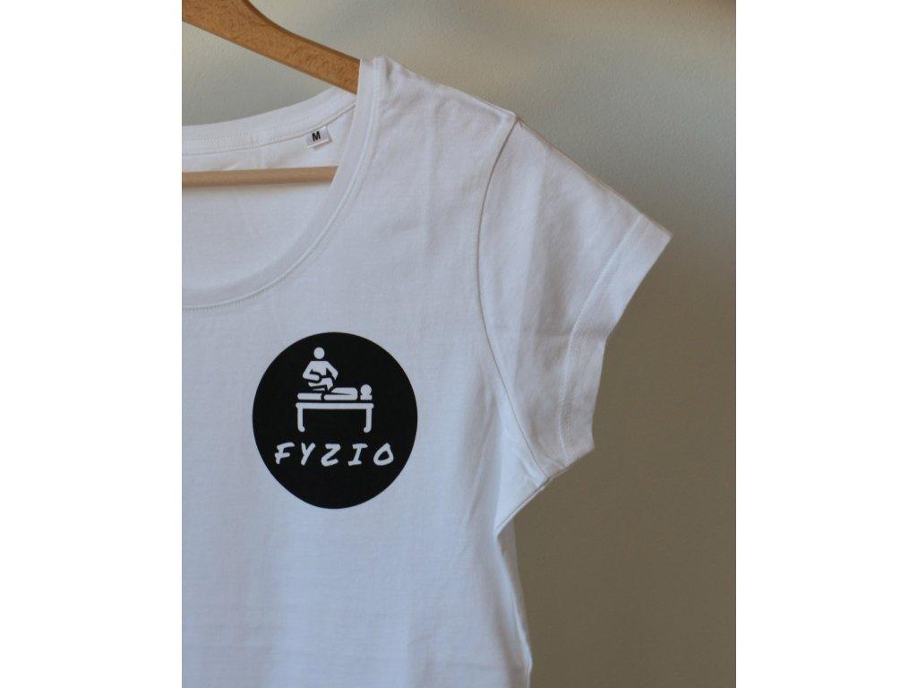 Fyzio tričko minimalistické