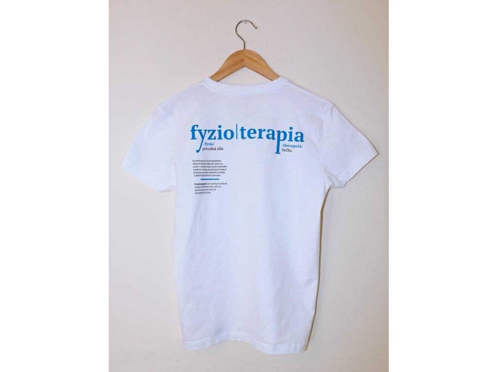 """Fyzio tričko """"Zo Slovníku"""" (pánske)"""