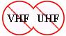 Rušičky VHF/UHF