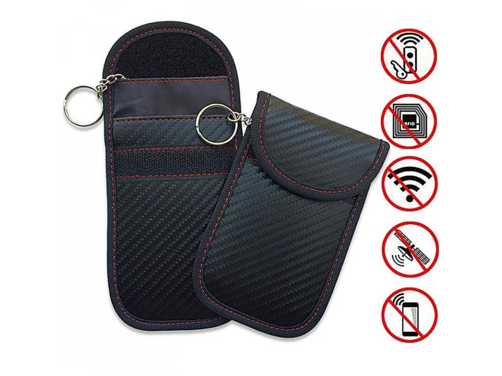 Car Key Bag Car Fob Signal Blocker Faraday Bag Signal Blocking Bag Shielding Pouch Wallet Case 800x