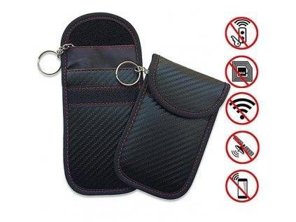Car Key Bag Car Fob Signal Blocker Faraday Bag Signal Blocking Bag Shielding Pouch Wallet Case 800x