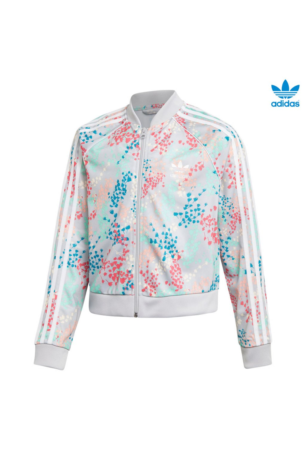 ej6299 damska bunda adidas flowers crp sst top