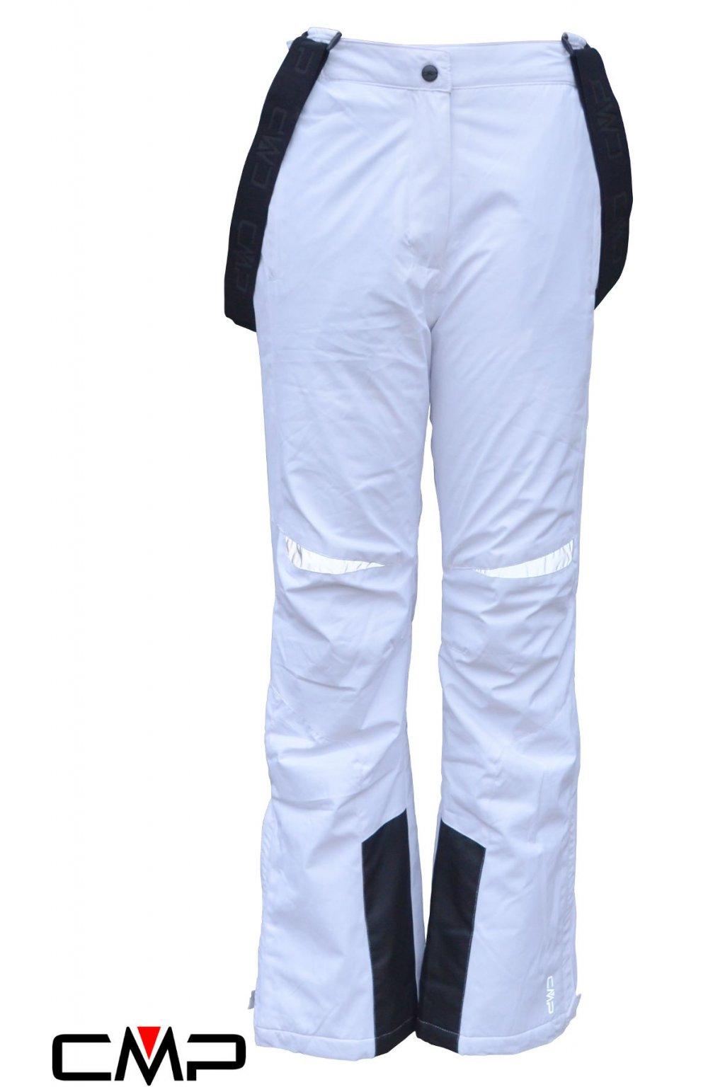 3w01805 a001 biele juniorske lyziarske nohavice mp ski salopette
