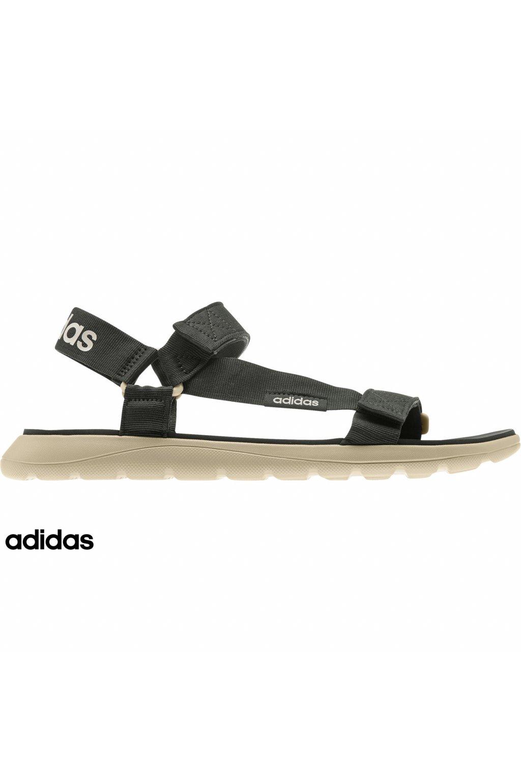 eg6515 panske sandale adidas comfort cierne