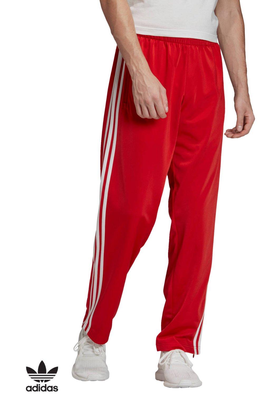 fm3814 panske teplaky adidas sst trackpants cervene