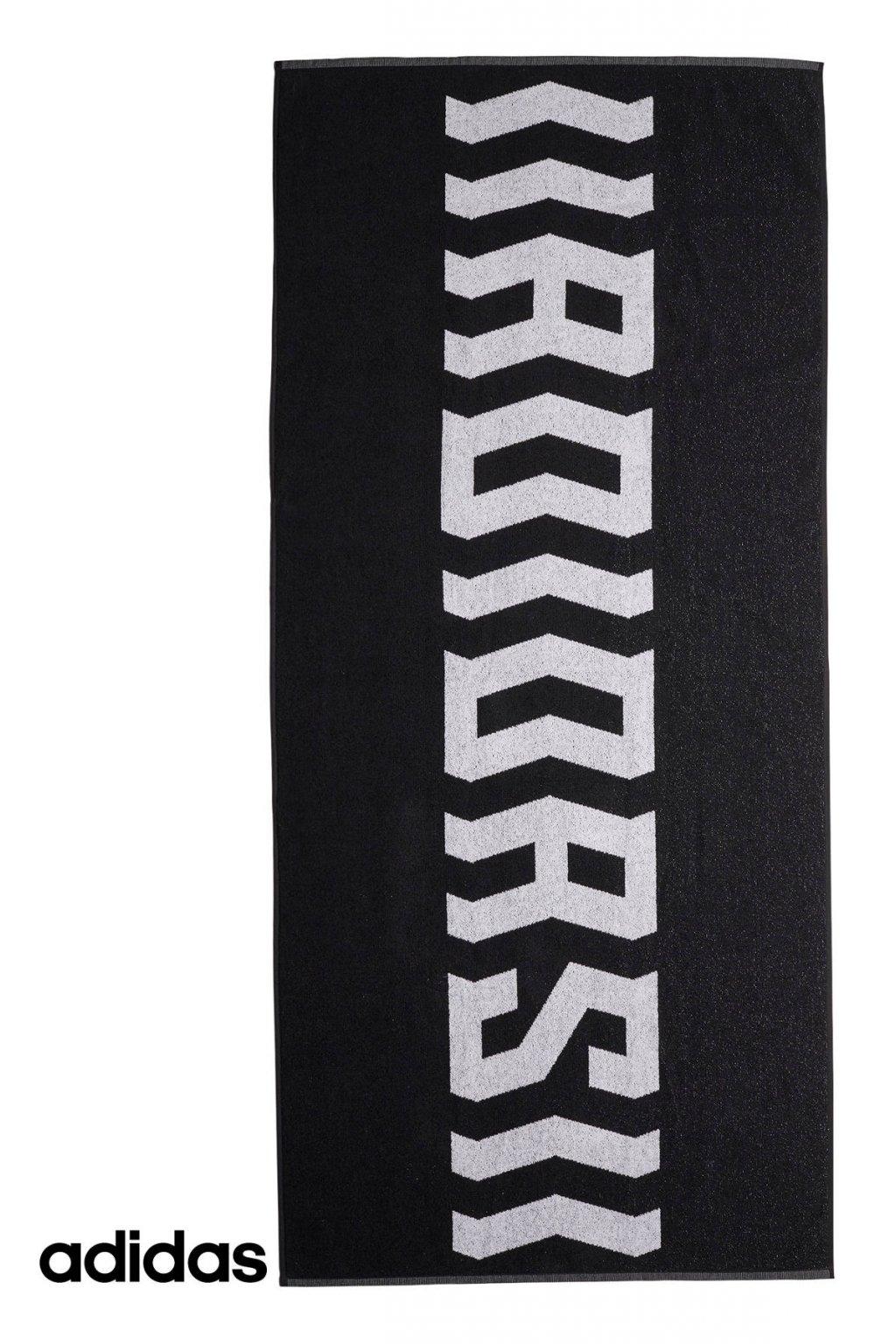 fm7607 uterak adidas training towel cierny