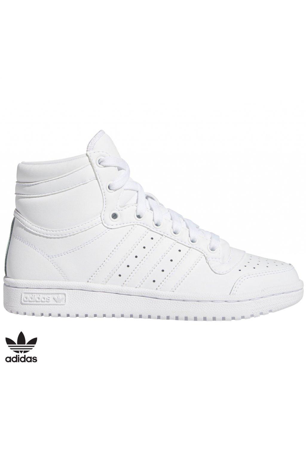 fw4997 vysoke biele tenisky adidas top ten j