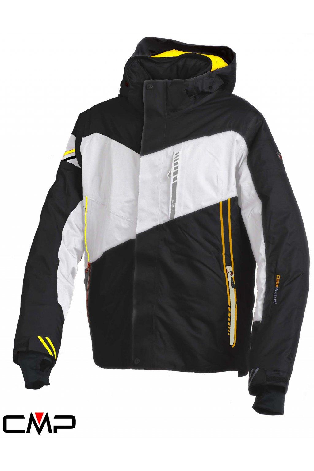 3W23237 387E cmp man ski jacket zip hood