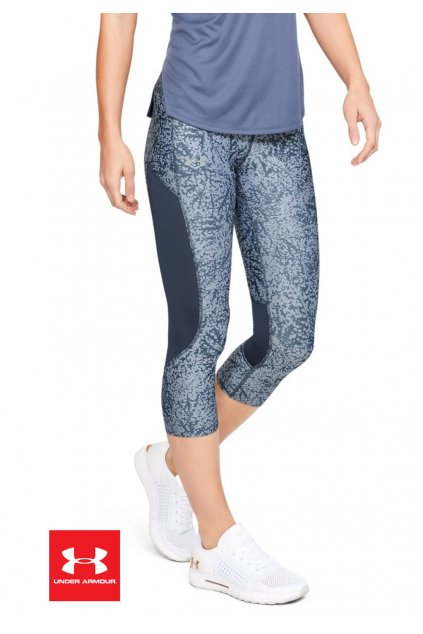 1342907 leginy under armour speed stride printed capri