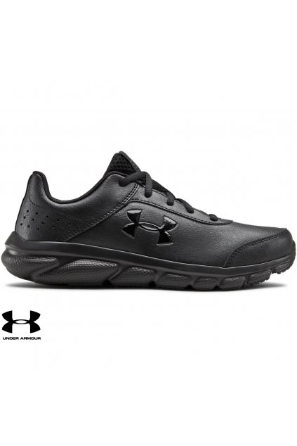 3022697 tenisky under armour gs assert ufm black