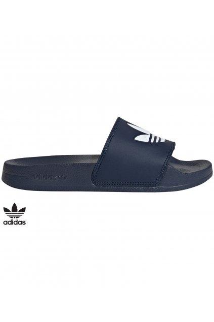 fu9178 juniorske slapky adidas adilette lite modre