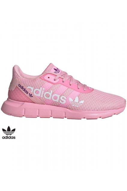 fw1656 ruzove damske tenisky adidas swift run