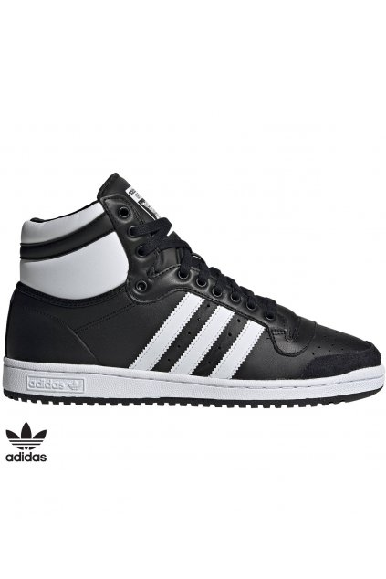 b34429 vysoke tenisky adidas top ten cierne
