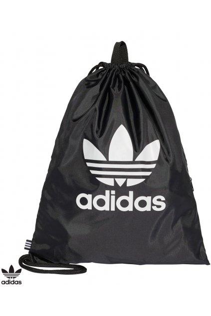 bk6726 taska adidas gymsack trefoil cierna