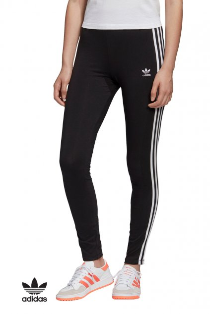 fm3287 leginy adidas 3 stripes tight cierne