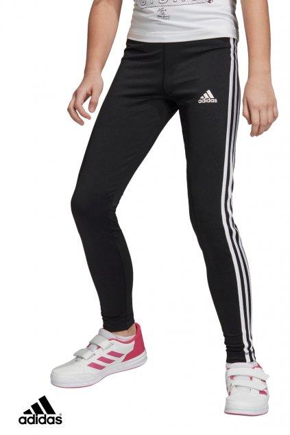 dv2755 leginy adidas 3 stripes tight cierne