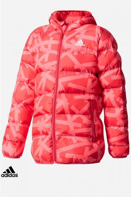 cf1613 dievcenska bunda adidas synthetic down jacket (1)