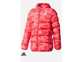 cf1613 dievcenska bunda adidas synthetic down jacket (1)