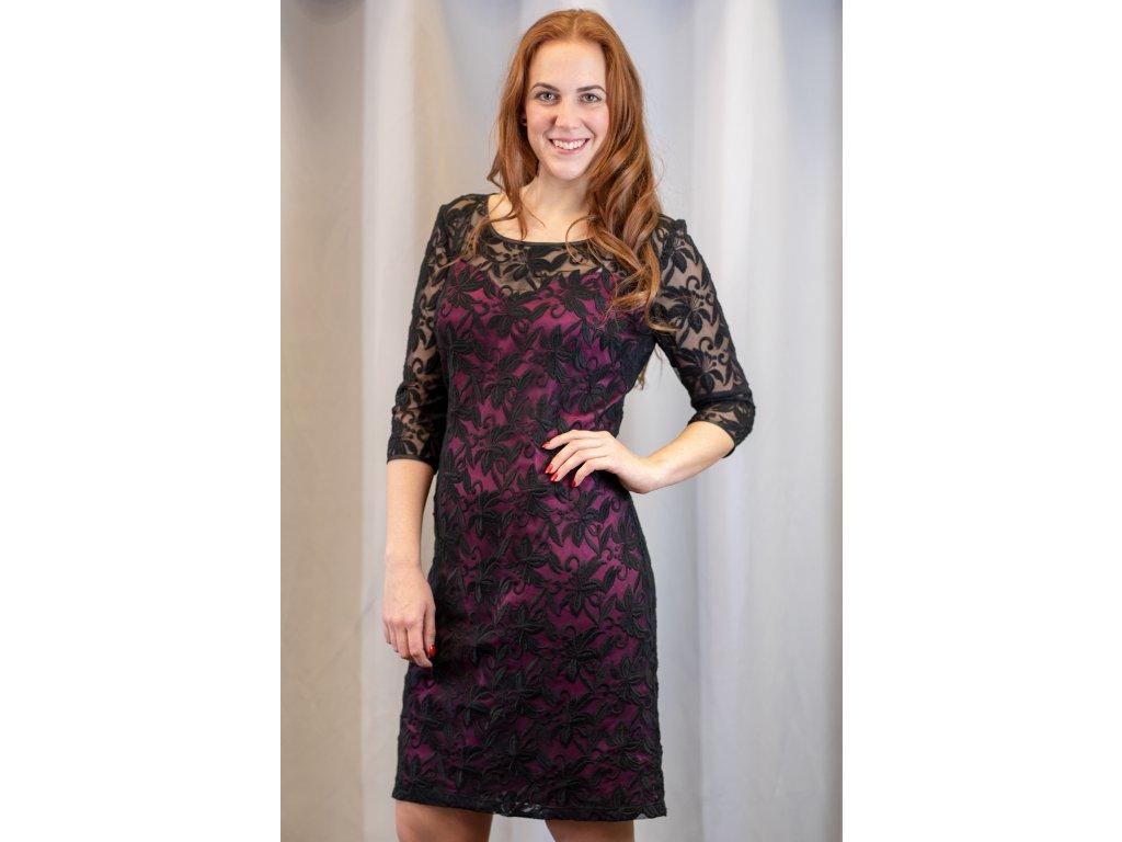 Šaty DOROTA - společenské krajkové šaty
