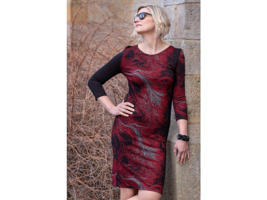 Šaty AMANDA - pouzdrové šaty