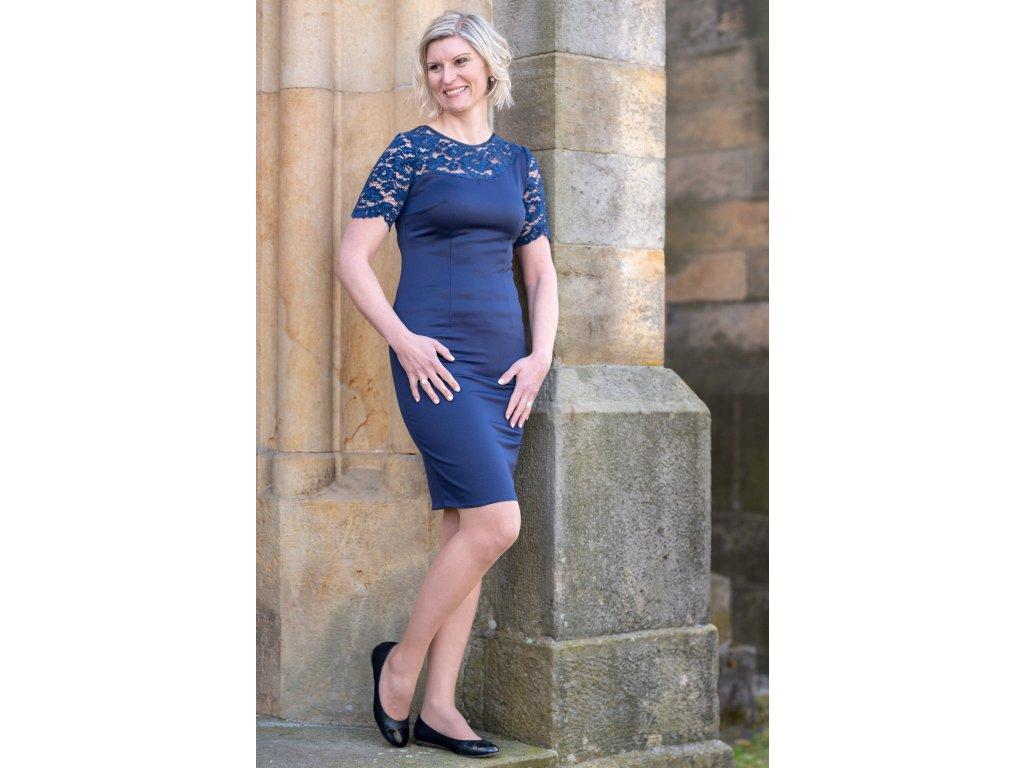 Šaty MERI - modré