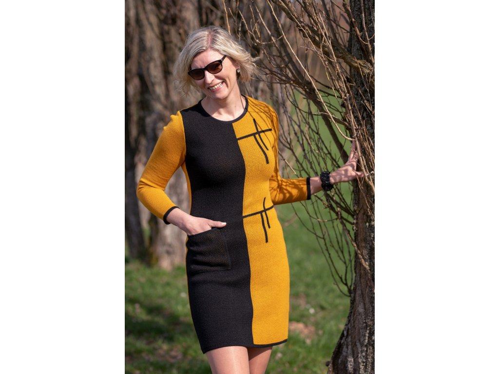 Šaty MARTA - pletené