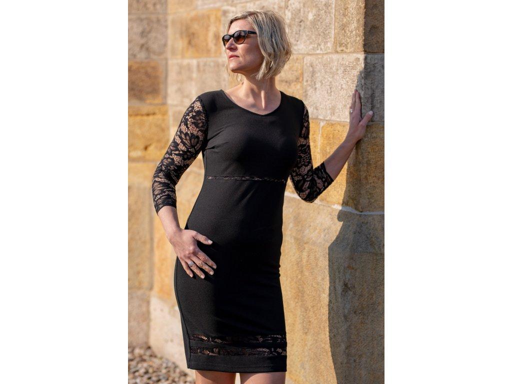 Šaty LARA - černé