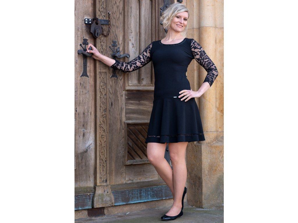 Šaty JANKA - černé