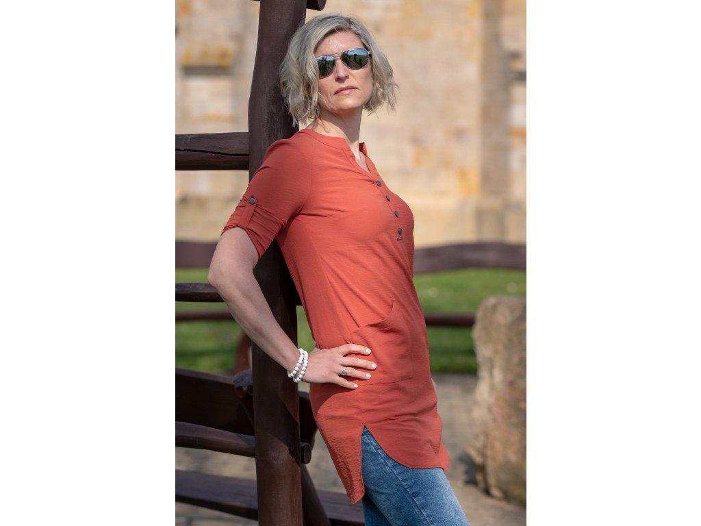 Šaty NELY - košilové šaty
