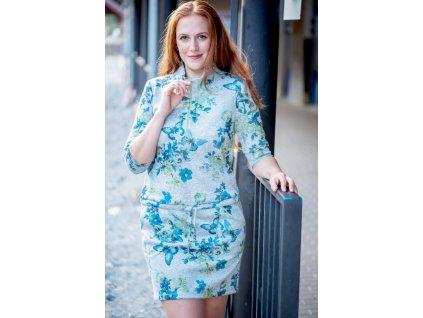 Šaty DÁŠA - sportovní šaty s podkasem