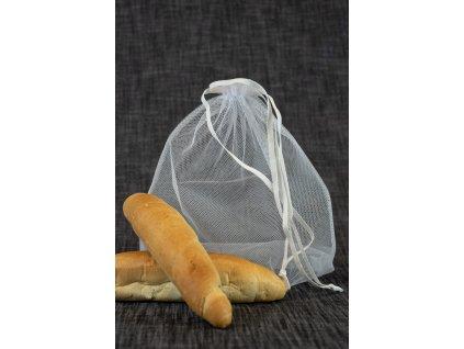 potravinový sáček bílý 25 x 30