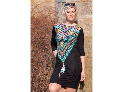 Šaty FREJA - pouzdrové šaty