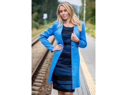 Sako ŽANETA - prodloužené sako s dlouhým rukávem