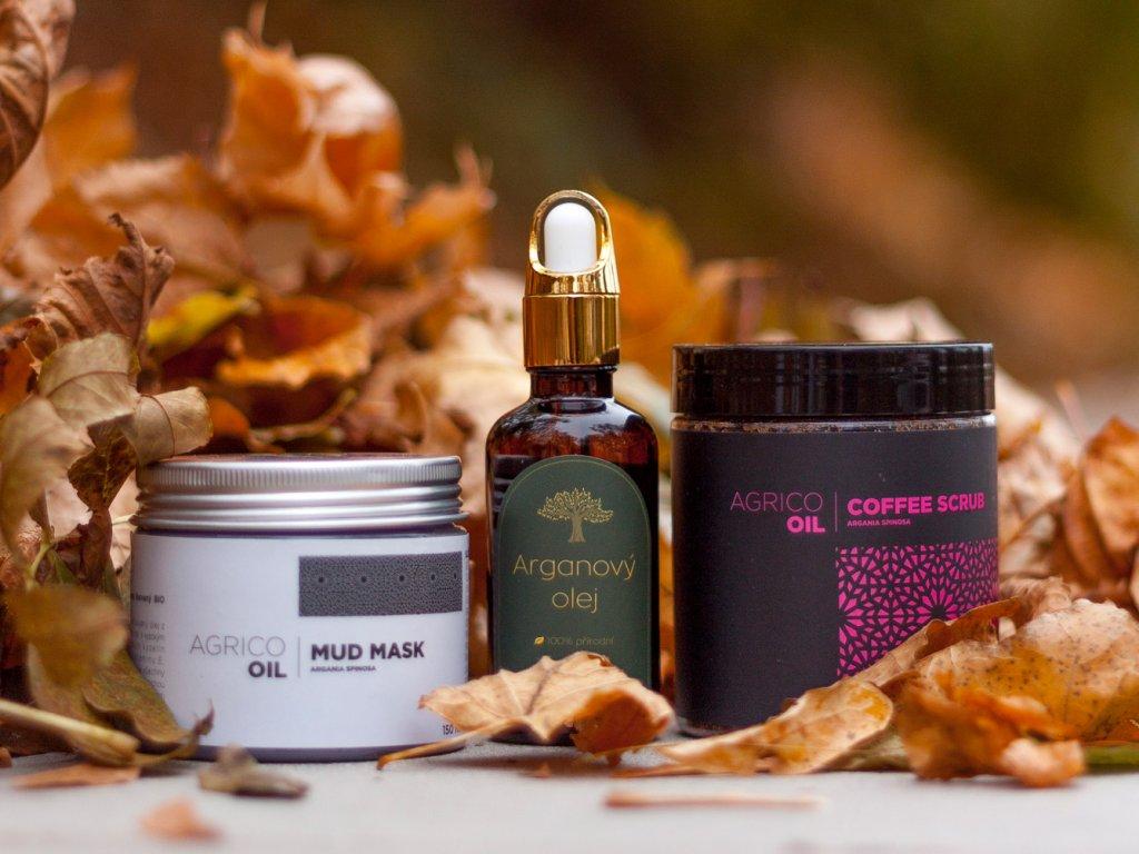 Sada pleťové kosmetiky s arganovým olejem