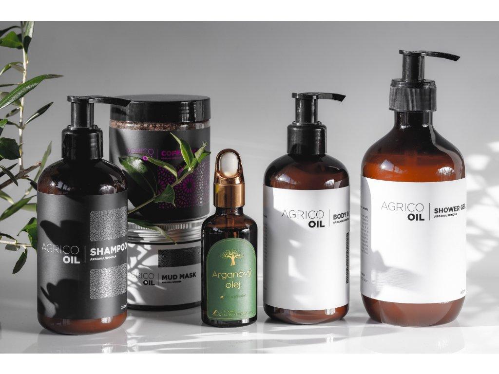 Agrico-Oil sada tělové kosmetiky s arganovým olejem